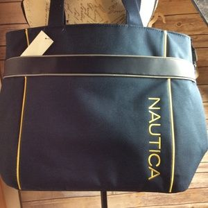 Nautica Travel Carry On Boating Tote Beach Bag